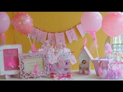 Baby Shower Nenas - Ideas Faciles para Decorar - Stenciles - Souvenirs -