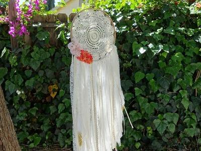 Bohemian Dreamcatcher & Glitter Feather Mobile ♥ DIY