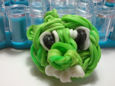 Cerdito angry bird. Bad piggies Rainbow loom