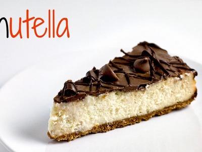 CHEESECAKE DE NUTELLA ♡ FACIL