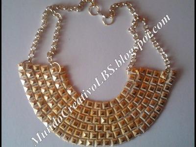DIY: collar estilo egipcio *002*