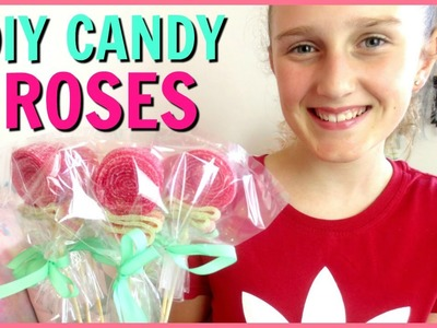 DIY Easy Candy Roses - Mothers Day, Birthday or Valentines Gift!