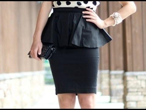 DIY falda con camisa