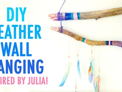 DIY Feather Wall Hanging Inspired by Julia - HGTV Handmade