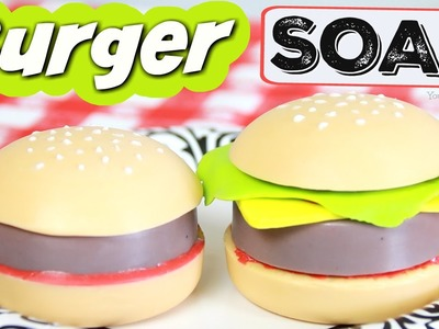 DIY Hamburger Soap - World Chef Inspired - Easy Soap Making How-To - Melt & Po