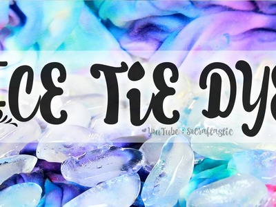 DIY Ice Tie Dye! How to Tie-Dye with ICE