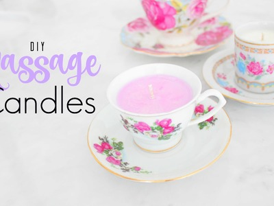 DIY Massage Candles - 2 in 1 Mother's Day Gift Idea !!