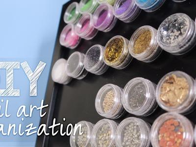 DIY Nail Art Organization
