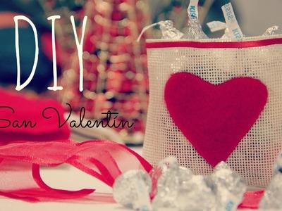 DIY San Valentine´s Day. San Valentin costalito de Amor