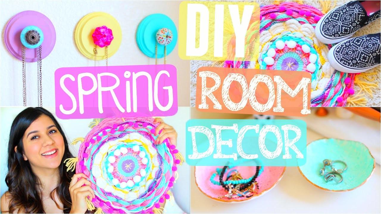 DIY Spring Room Decor 2016!! Easy & Cheap!