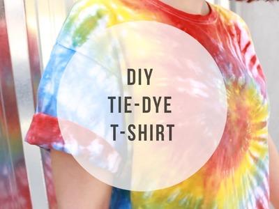 DIY | TIE-DYE T-SHIRT