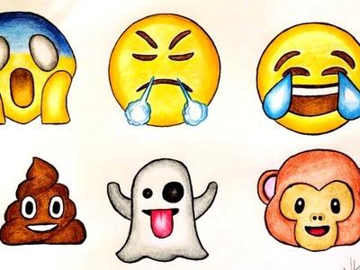 Drawing emojis