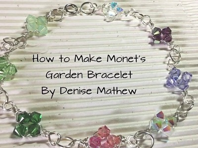 How to Make a Trendy Clover Crystal Bracelet by Denise Mathew