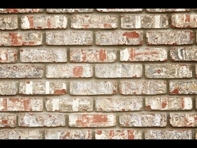 How to make faux brick wall