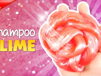 How To Make SHAMPOO PINK SLIME !! DIY SWEET PINK SHAMPOO SLIME