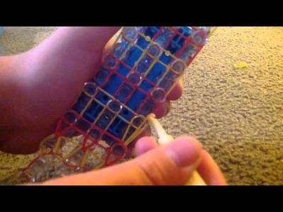 How to make the tunnel rainbow loom bracelet