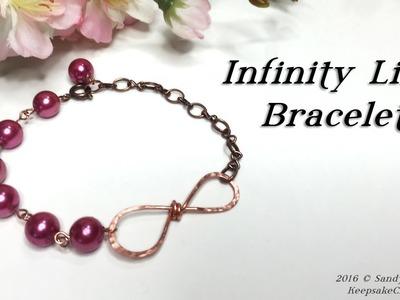 Infinity Link Bracelet Tutorial