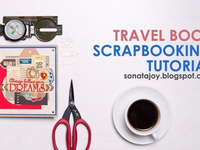 Mini Album.Travel Book Scrapbooking Tutorial. Scrapinec and Graphic45
