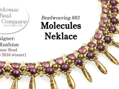 Molecules Necklace Design Tutorial (1st Place PBC Challenge 2016)
