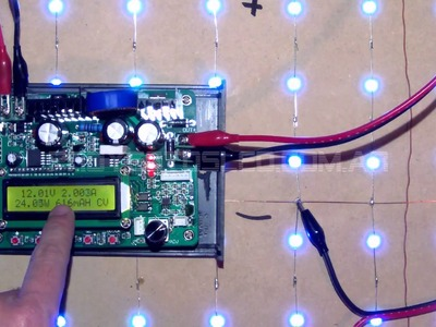 ProyectosLed #41: mesa led rgb, parte 2