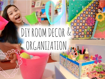 Super Cheap and Easy Ways to Clean and Organize your Room! DIY's and Storage ideas!!