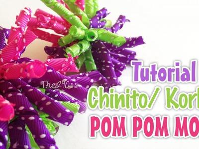 Tutorial: Chinitos. korker  moño (korker bow) -Los290ss