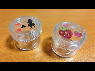 TUTORIAL: Deco Sticker Container [No Resin]