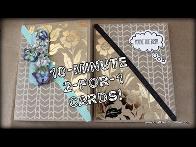 10 Minute 2-for-1 Cards