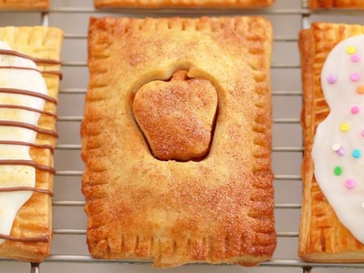 3 NEW Homemade Pop-Tarts: Apple Pie, S'mores & Funfetti - Gemma's Bigger Bolder Baking Ep  95