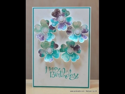 Baby Wipe Technique - JanB UK Stampin' Up! Demonstrator Independent