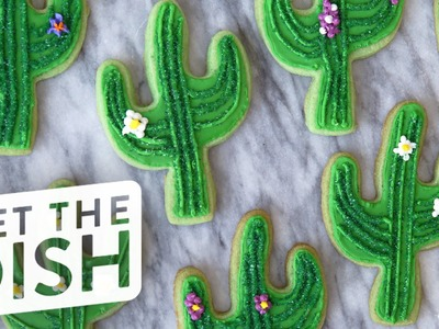 Cactus Cookies with Cookies, Cupcakes, & Cardio | Get the Dish
