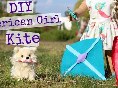 DIY American Girl Doll Kite Craft
