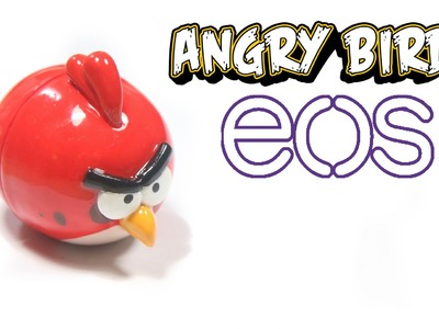 DIY EOS Lip Balm: Angry Bird Tutorial