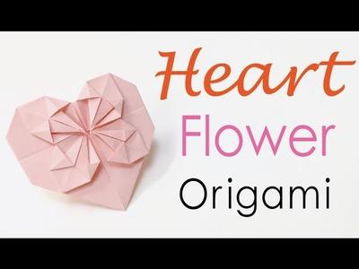 DIY ♥ Heart Flower Card - Origami Kawaii