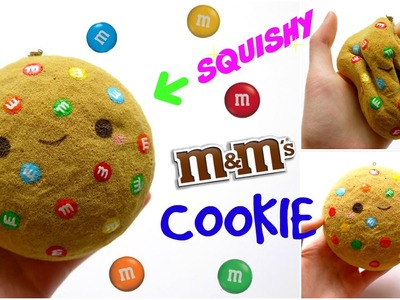 DIY M&M COOKIE SQUISHY ~ Homemade Squishy Tutorial