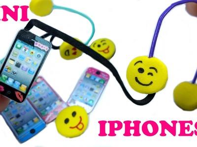 DIY Mini Iphone & Emoji Headphones: Doll DIY