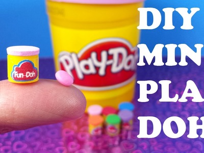 DIY Miniature Play Doh