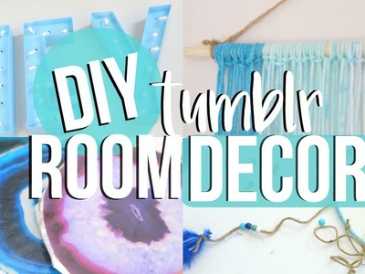 DIY Tumblr Room Decor 2016!