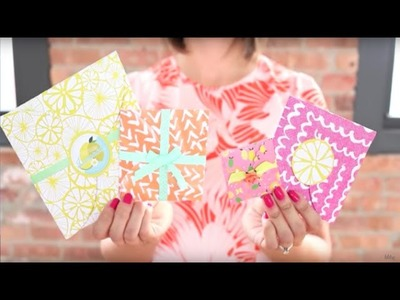 Envelopes With The Martha Stewart Circle Cutter