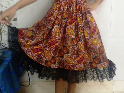 Frock making cutting and stitching easy method (DIY)