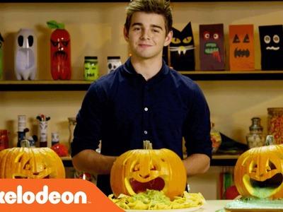 Halloween Hacks | Creating Puking Pumpkins w. Jack Griffo | Nick