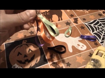 Halloween Project 6- How to make a Ribbon Witch Broom