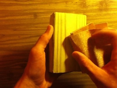 Hand sanding - Tips and Tricks