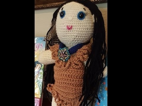 Helenmay Crochet Girl and Boy Dolls Part 3 of 3 DIY Tutorial