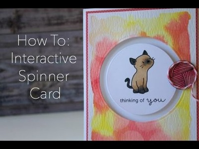 How to Create an Interactive Spinner Card
