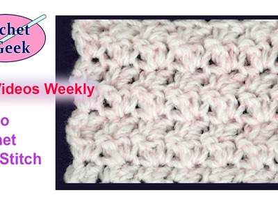 How to #Crochet a Seed Stitch Blanket - Crochet Geek