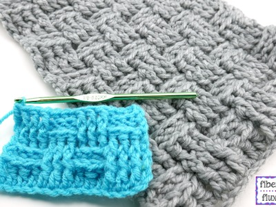How To Crochet the Basketweave Stitch, Episode 306