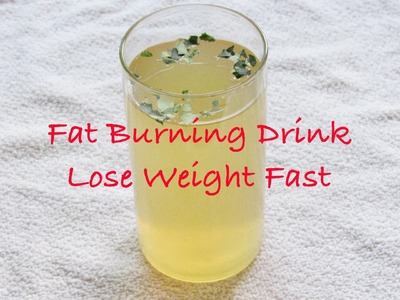 How To Lose Weight Fast - 5 KG | Fat Burning Drink | Fat Cutter Drink