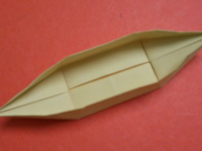 How to Make a Paper Boat Canoe 2
