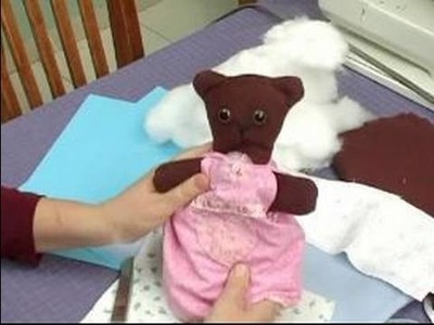 How to Make a Reversible Teddy Bear : Materials for Making a Reversible Teddy Bear